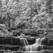 Glade Creek Mill Art Print