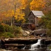 Glades Creek Mill Art Print