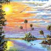 Glades Inspiration Art Print