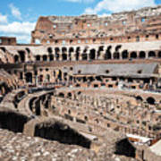 Gladiators And Christians Art Print