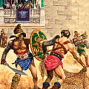 Gladiators Art Print