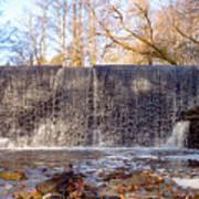 Gladwyne - Dove Lake Waterfall Panorama Art Print