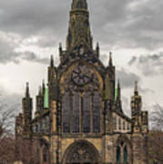 Glasgow Cathedral Front Entrance Art Print