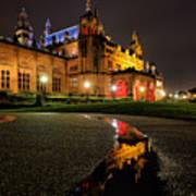 Glasgow Kelvingrove Art Gallery Art Print