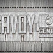 Glasgow Savoy Centre Art Print