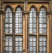 Glasgow Unversity Window Art Print