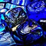 Glass Abstract 14 Art Print