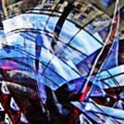 Glass Abstract 219 Art Print
