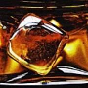 Glass Abstract 317 Art Print