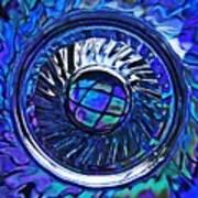 Glass Abstract 480 Art Print