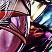 Glass Abstract 523 Art Print
