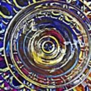 Glass Abstract 587 Art Print