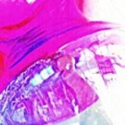 Glass Abstract 602 Art Print