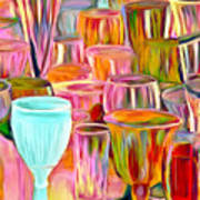 Glass Collection Art Print