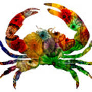 Glass Crab Art Print
