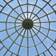 Glass Dome At Hall Of Liberation At Kelheim  Art Print by Lori Seaman