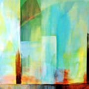 Glass Houses Vi Art Print