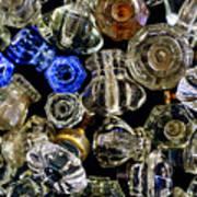 Glass Knobs Art Print