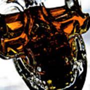 Glass Skull I Art Print