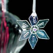 Glass Star Decoration Art Print