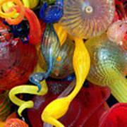 Glassworks Of The Milwaukee Art Museum Art Print