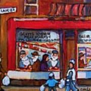 Glatts Kosher Meatmarket And Tailor Shop Art Print