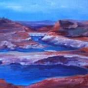 Glen Canyon Dam Arizona Art Print