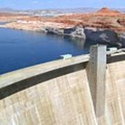 Glen Canyon Dam Art Print