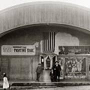 Glen Lyon Pa. Family Theatre Early 1900s Art Print