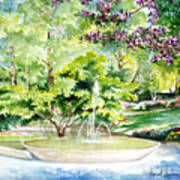 Glencairn Fountain Art Print