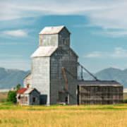 Glengarry Grain Elevator Art Print