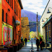 Glenwood Alleyscape Art Print
