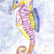 Glitter Girl Art Print