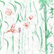 Glittering Spring Art Print