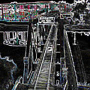 glo 247- Going To The Boardwalk Art Print