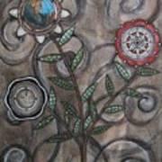 Global Garden Art Print