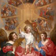 Glorification Of The Name Of Jesus Art Print