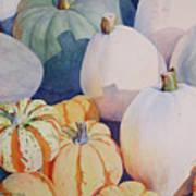 Glorious Gourds Art Print