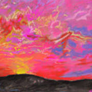 Glorious Sunset 5 Art Print