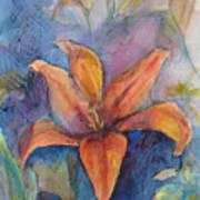 Glorius Lily Art Print