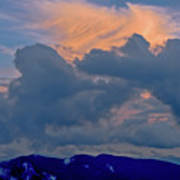 Glory Of Sunset Art Print