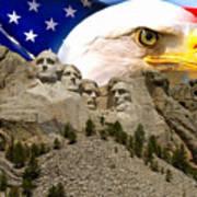 Glory To America Art Print