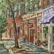 Gloucester Around Town Art Print by Sharon Jordan Bahosh