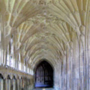 Gloucester Cathedral Cloisters Art Print