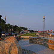 Gloucester Waterfront Gloucester Harbor Art Print