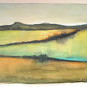 Glow Of The Prairie Art Print