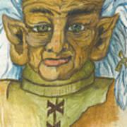 Gnarlsworth Gnome Art Print