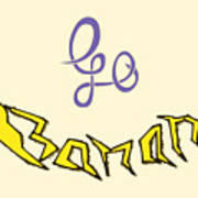 Go Banana Art Print