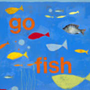 Go Fish Print by Laurie Breen